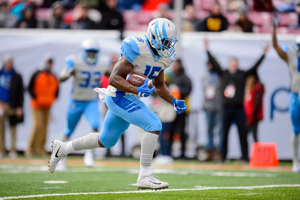 Salt Lake Stallions win their first AAF home game, beating the ...