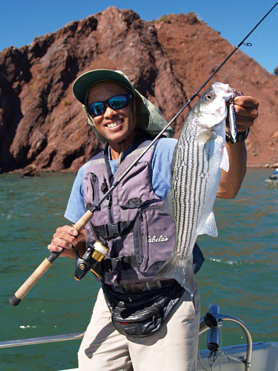 How To Catch West Coast Striped Bass | Salt Water Sportsman