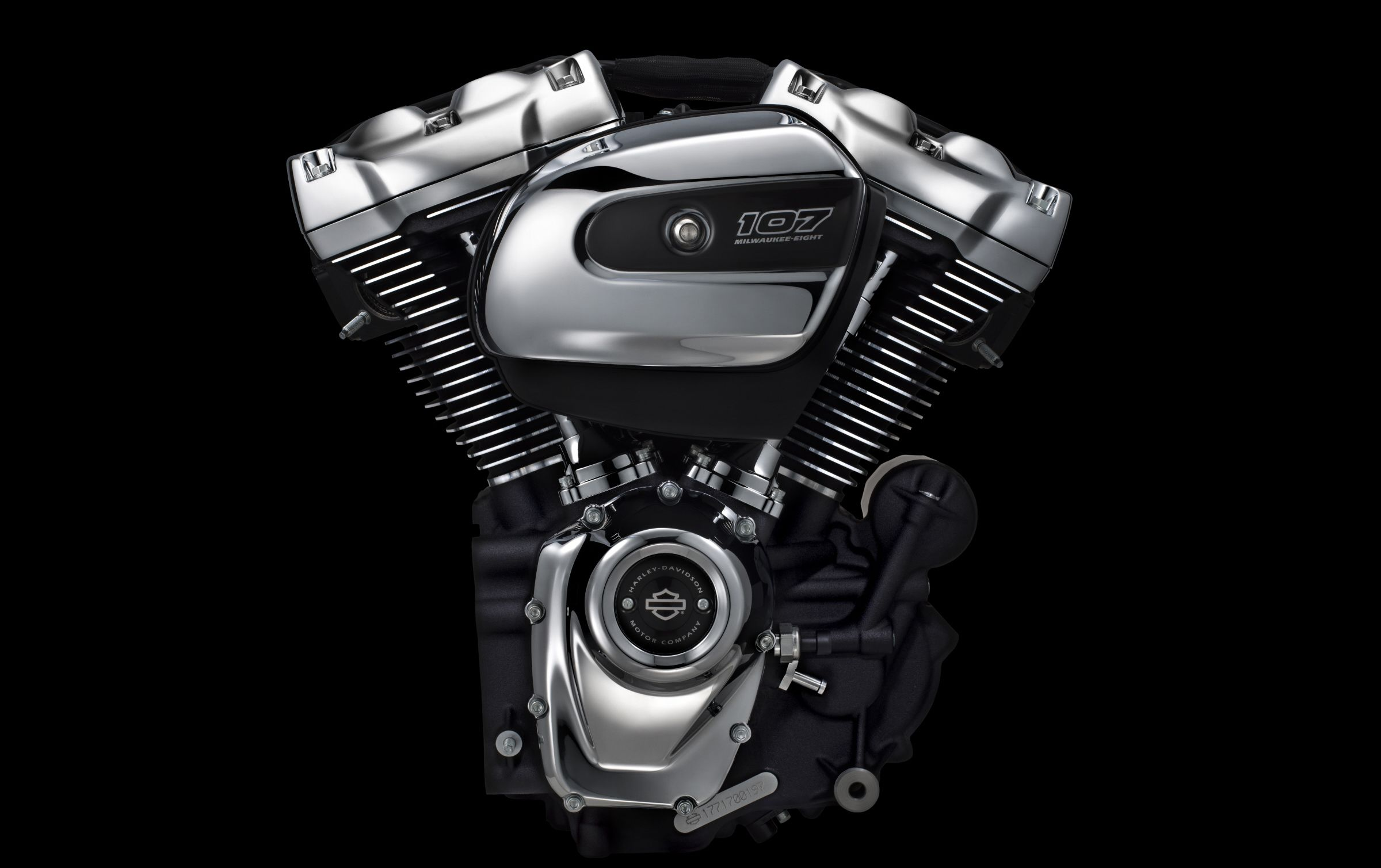 The New H-D Milwaukee-Eight V-Twin Engine for 2017