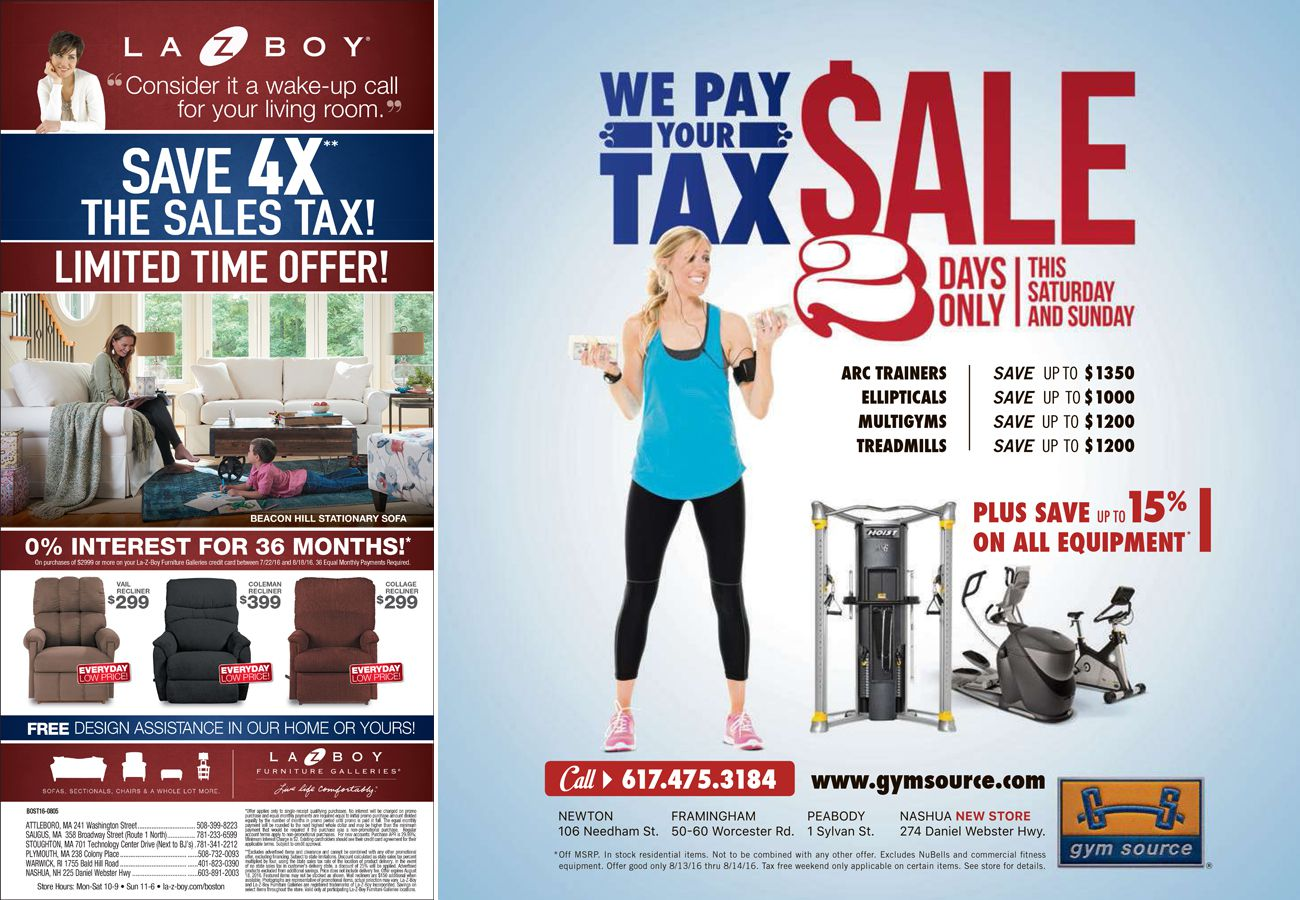 Stores offer their own 'tax holiday' - The Boston Globe