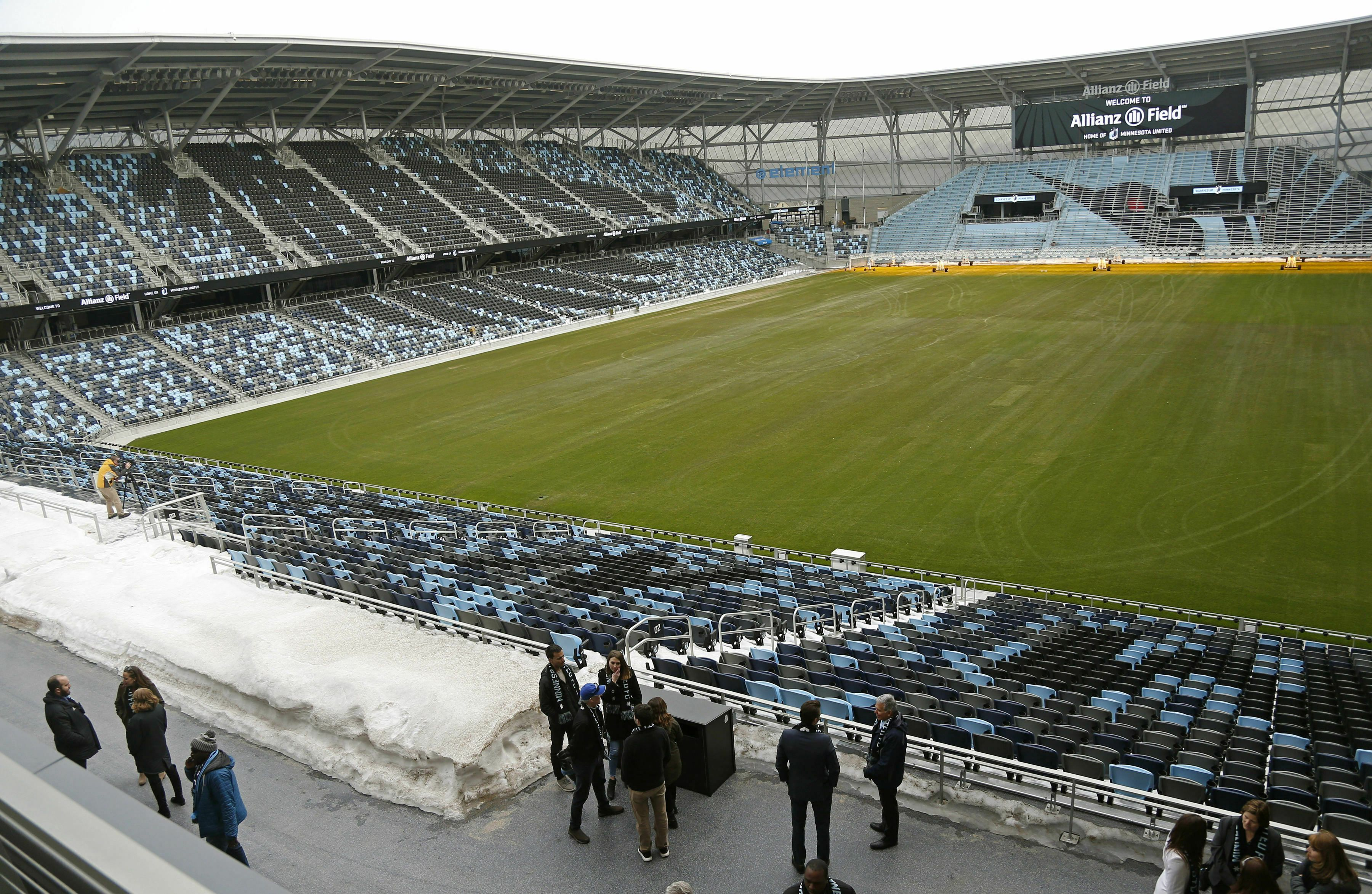 The Twin Cities have a beautiful new soccer stadium  Why