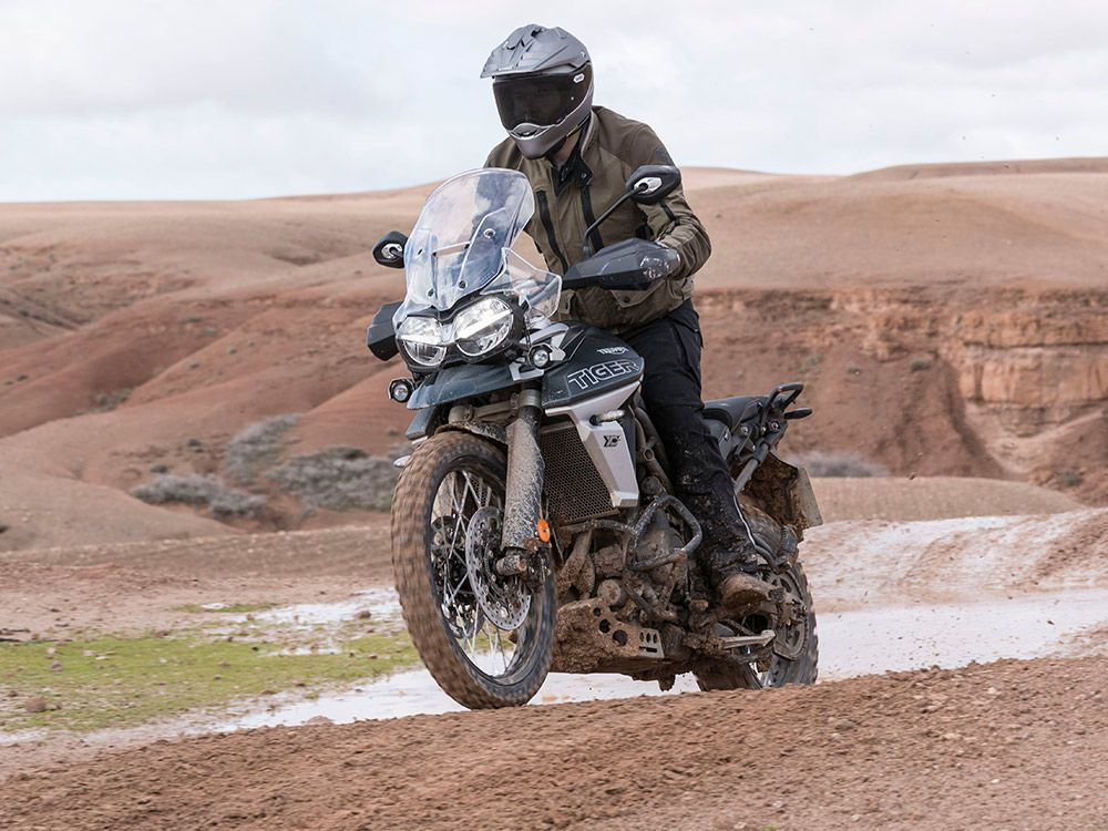 The World Isn't Perfect, Which Is Why The 2018 Tiger 800 Has