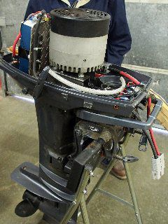 DIY Electric Outboard Engine Conversion | Cruising World
