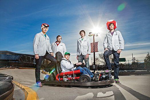 Super-Real Mario Kart   Popular Science
