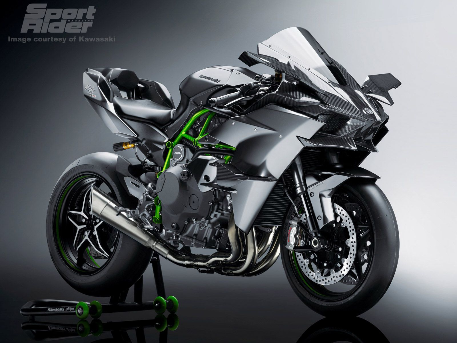 Kawasaki S Ninja H2 And H2r Go Even More High Tech For 2017 With Video Cycle World