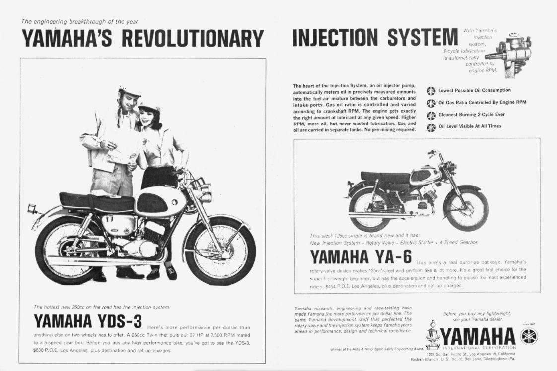 Yamaha YA-6 Motorcycle History, CLASSICS REMEMBERED | Cycle