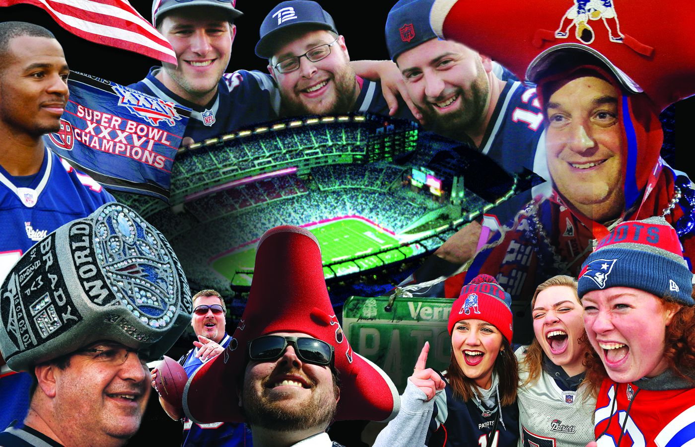 7001dcb69398a A superfan s guide to seeing the Patriots at Gillette Stadium - The Boston  Globe