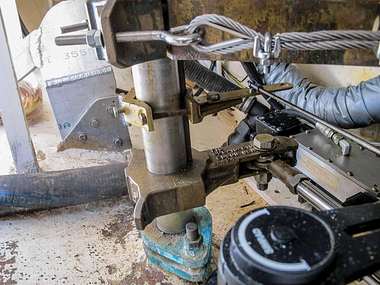 Rudder Steering Quadrant for Boat Yacht Motorboat