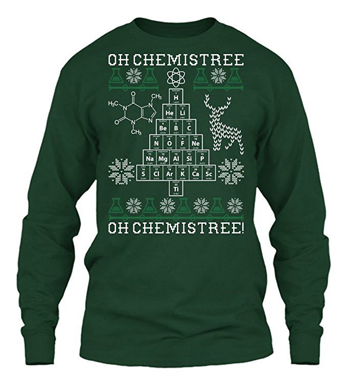 Nerdy Christmas Sweaters.Our Favorite Science Themed Ugly Christmas Sweaters