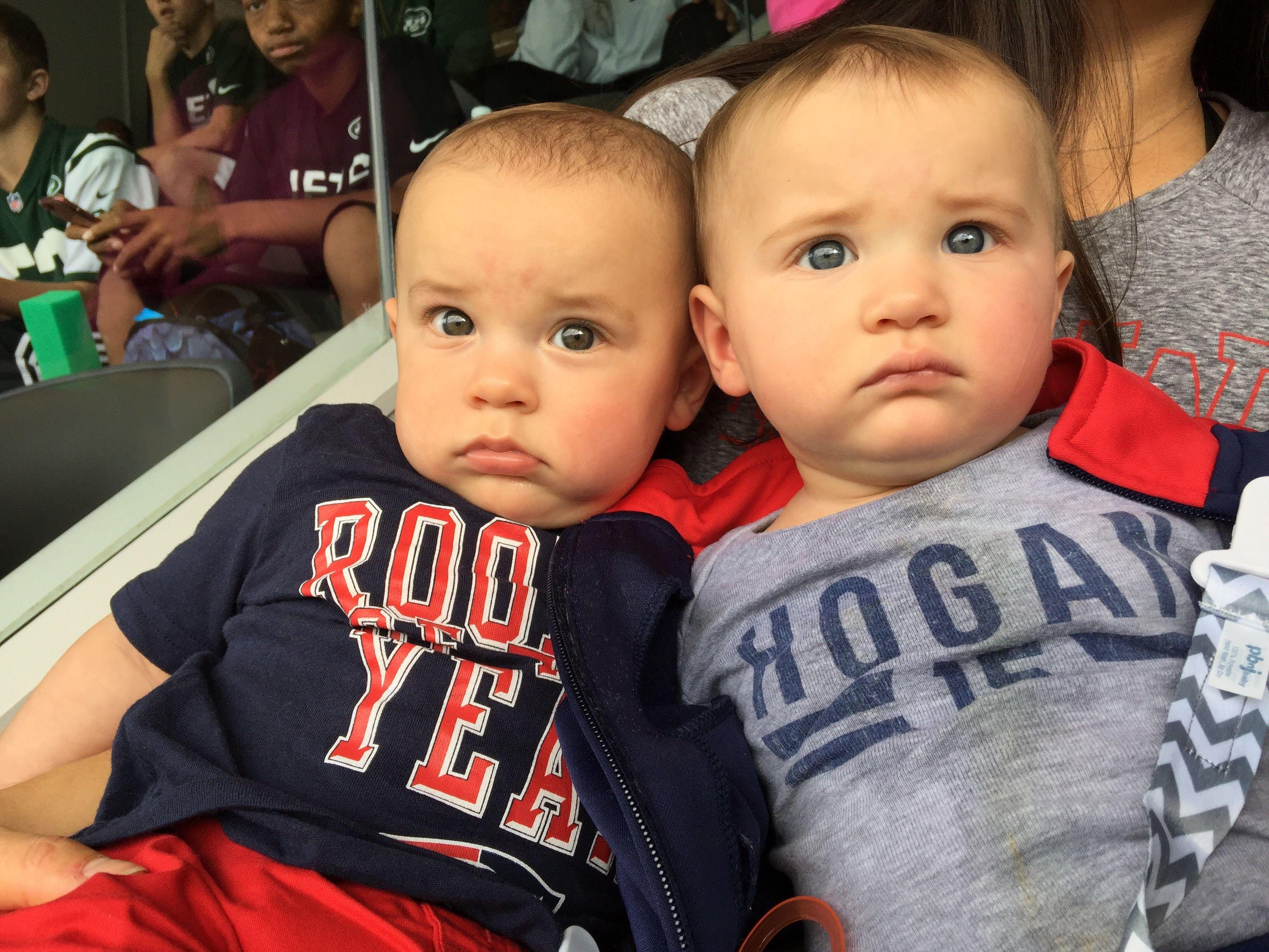 Behind the demanding careers of Chris Hogan and Ashley Boccio, a ...