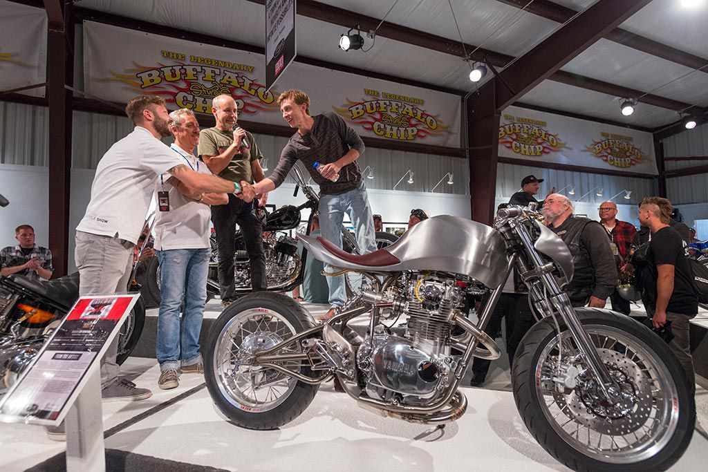Motorcycles As Art Exhibition 2017 Old Iron Young Blood Cycle World