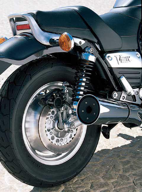 Motorcycle Road Test Yamaha V Max Motorcycle Cruiser