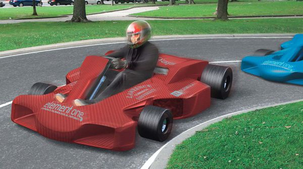 The Fuel-Cell Racing Go-Kart | Popular Science