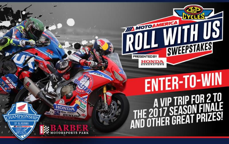 Enter To Win The MotoAmerica 'Roll With Us' Sweepstakes | Cycle World