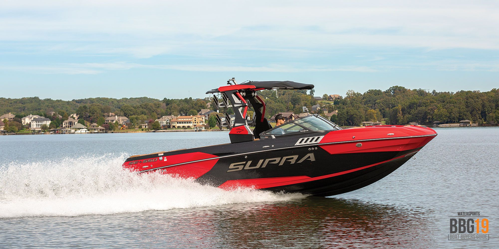 2019 Supra Se 550 Boating Magazine